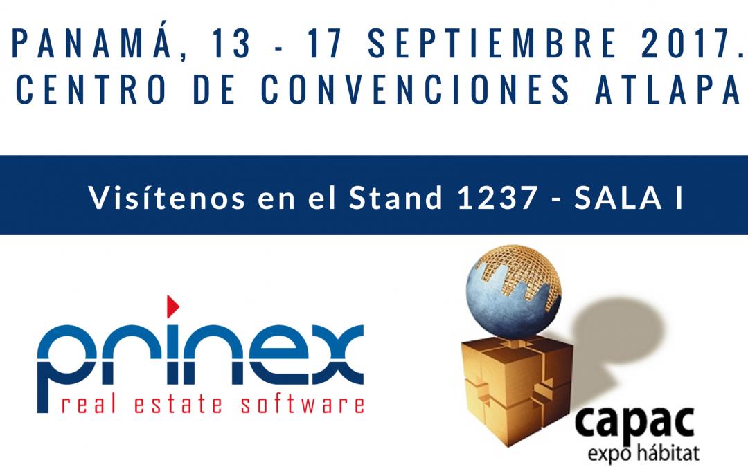 Prinex participa en la feria Capac Expo Hábitat en Panamá