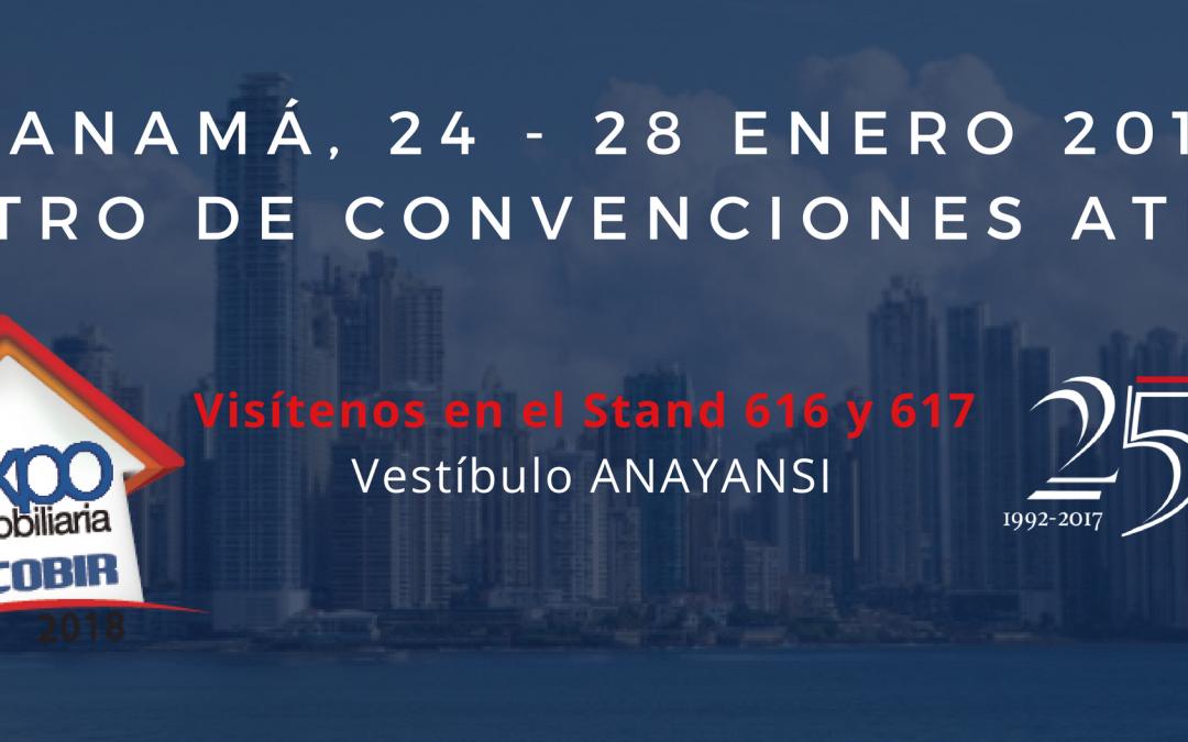 Prinex, presente en la feria Expo Inmobiliaria Acobir en Panamá por cuarto año consecutivo