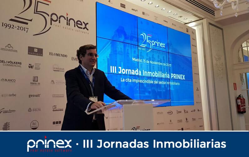 Prinex, en su 25 Aniversario, celebra sus jornadas inmobiliarias en Madrid y Barcelona