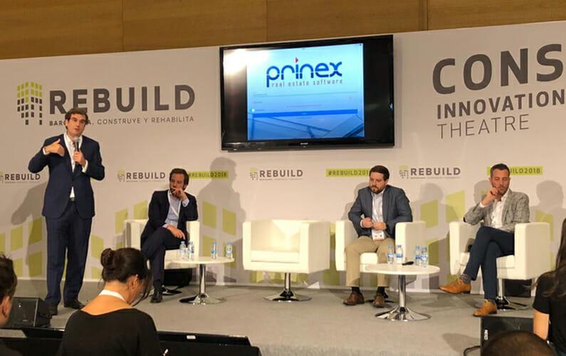 Prinex participa en REBUILD, el mayor encuentro profesional sobre innovación para el sector de la edificación