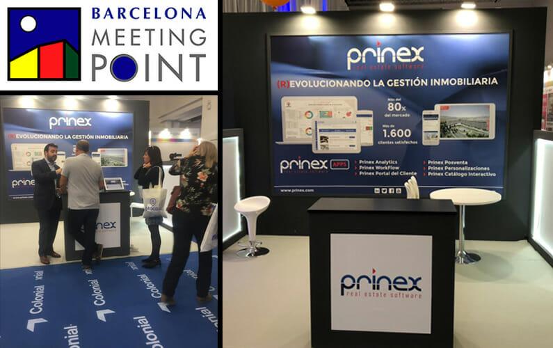 Prinex participa en BARCELONA MEETING POINT 2018