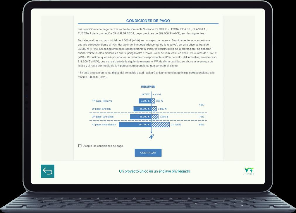 comercialización digital de alquiler